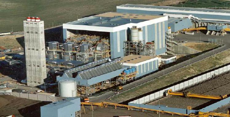 Biomasa errausteko planta